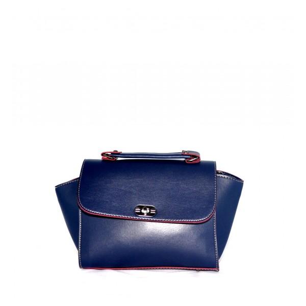 Тъмно синя Чанта