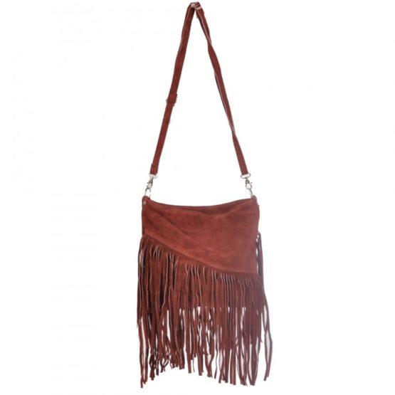Чанта с Ресни Велур