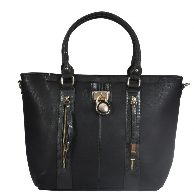 Черна Чанта с катинарче