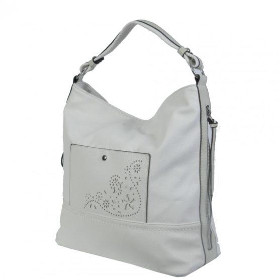 Бяла Чанта с Перфорация