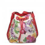 Чанта с Флорални елементи