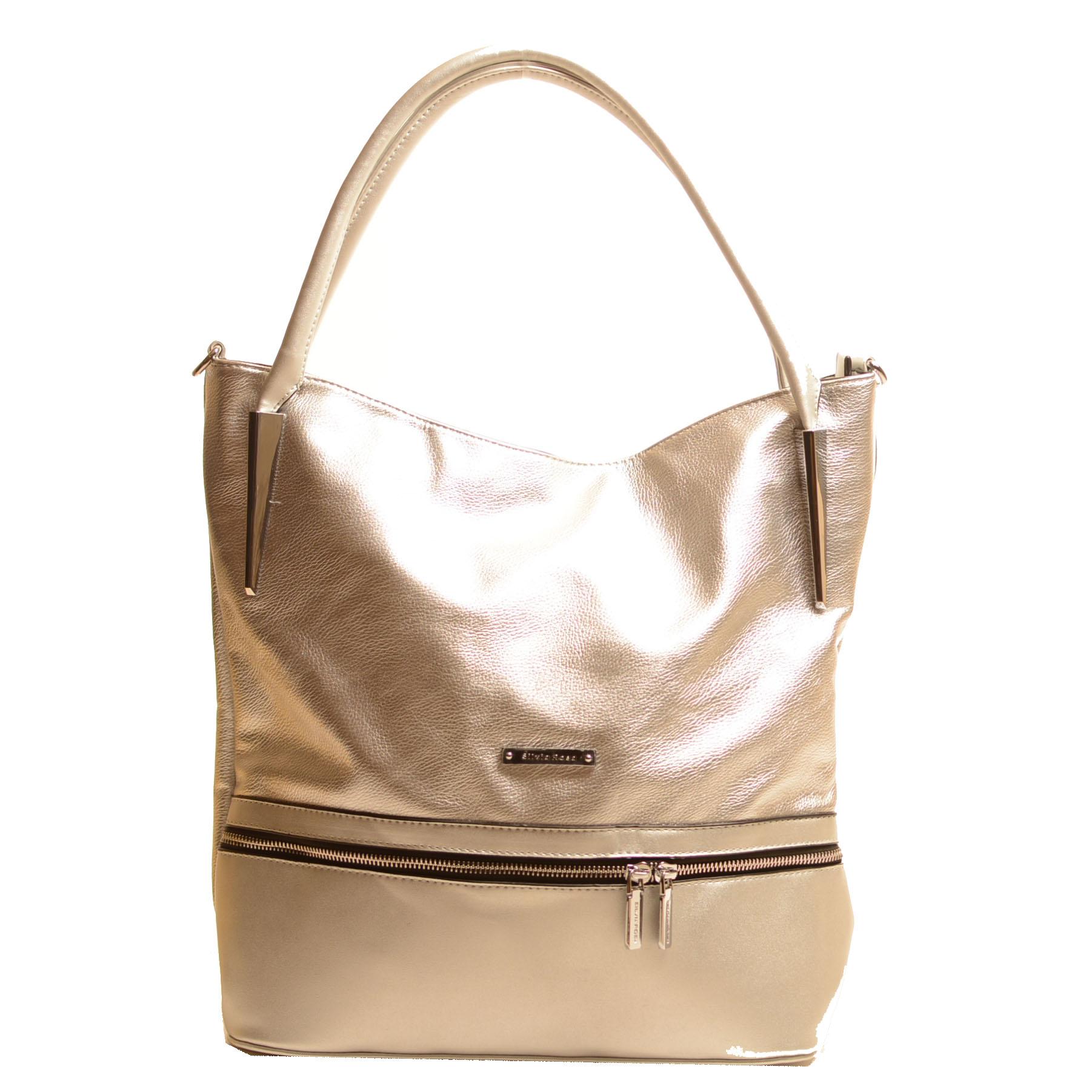 Стилна Сребърна Дамска Чанта