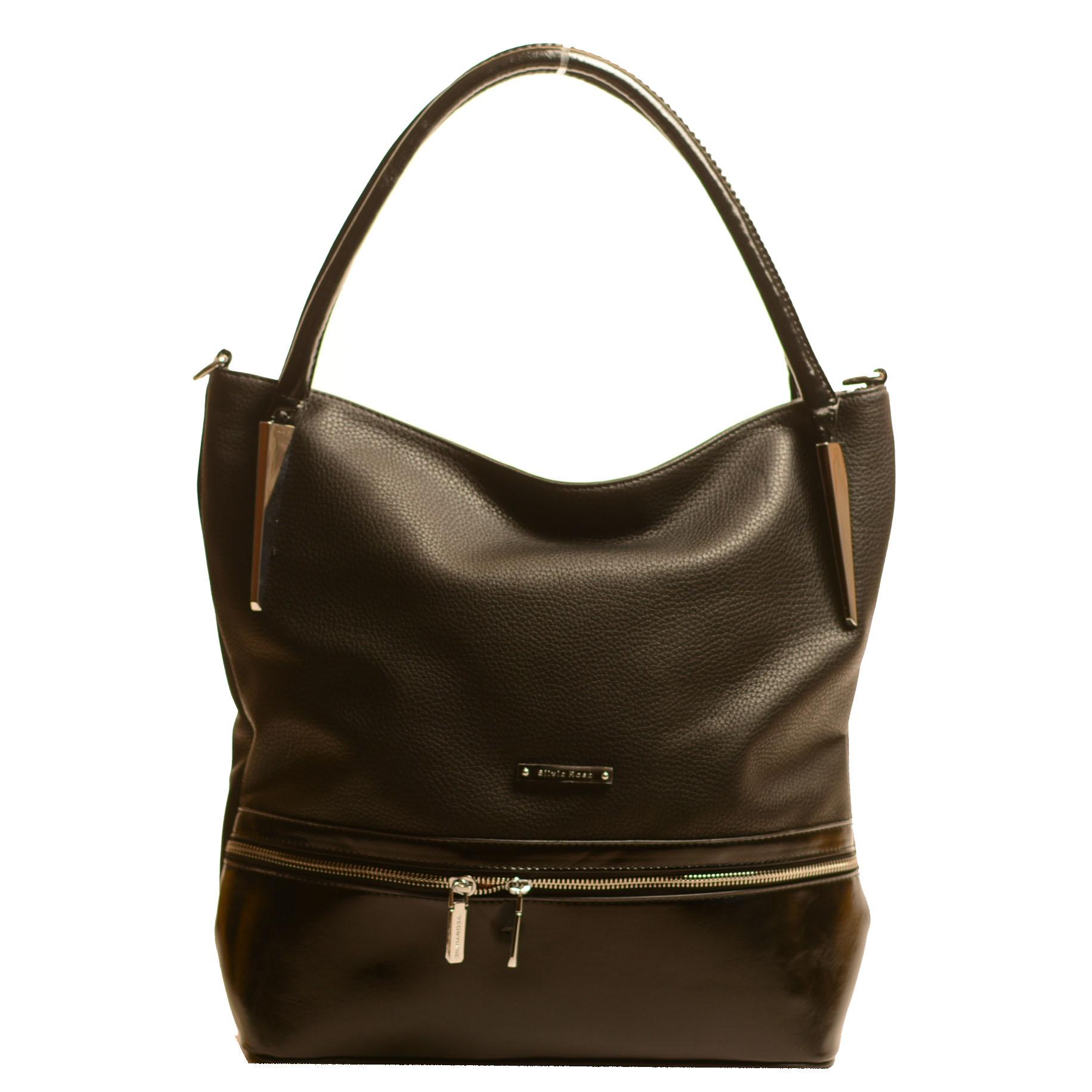 Стилна Черна Дамска Чанта