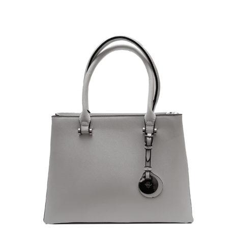Бяла елегантна дамска чанта